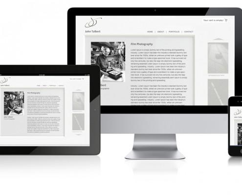 Talbert Photography Website