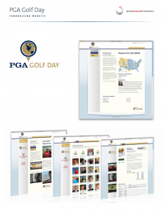 pga golf day design