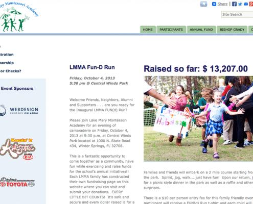school fundraising site