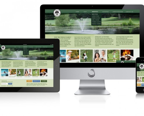Golf Club Website